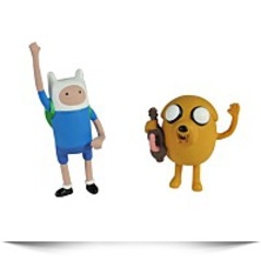 2 Finn And Jake Collectors Pack