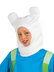 adventure time finn human headpiece includes