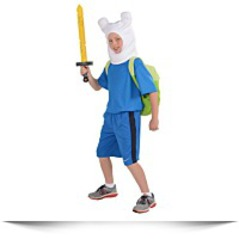 Adventure Time Childs Deluxe Finn Costume