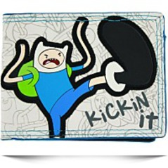 Adventure Time Finn Kickin It Bifold