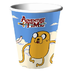 adventure time party hotcold cups package