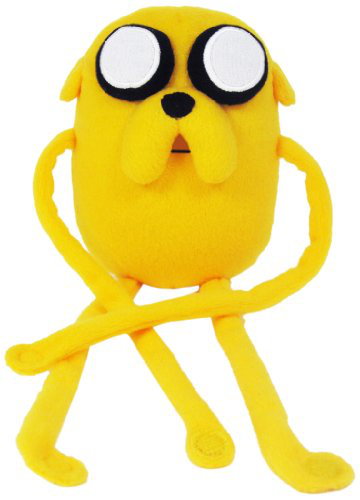 Adventure Time Jake 10 Plush