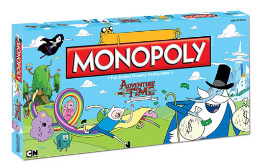 Monopoly Adventure Time Collectors