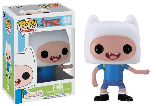 Pop Television Adventure Time Finn Vinyl